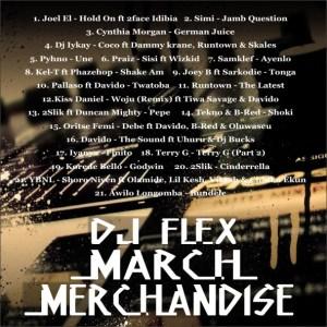 DJ Flex - March Merchandise Mix
