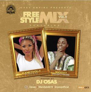 DJ Osas - Freestyle Mix Vol. 9 Ft. Mandydollz & Snoovy