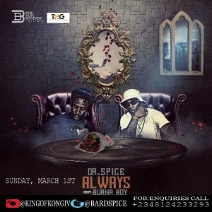 Dr. Spice - Always ft. Burna Boy