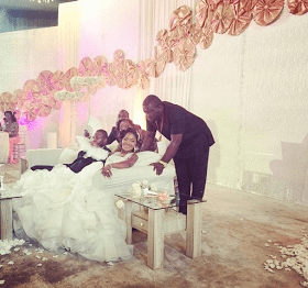 First Photo and Video from Pres. Jonathan's Daughter's Wedding