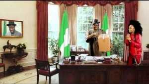 HILARIOUS VIDEO: Denrele Makes Jest, Delivers A Special Package to President Jonathan