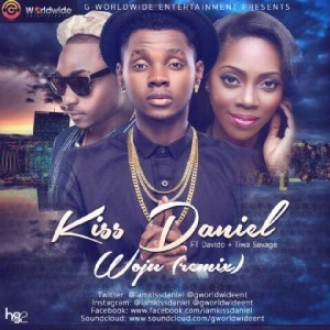 Kiss Daniel - Woju Remix ft. Davido & Tiwa Savage
