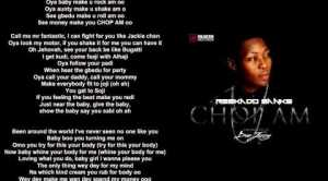 Lyrics Video: Reekado Banks - Chop Am