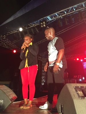 M.I Rocks Out The Stage At Star Trek Awka