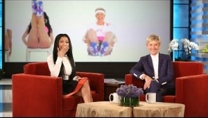 Nicki Minaj Reacts to Ellen DeGeneres