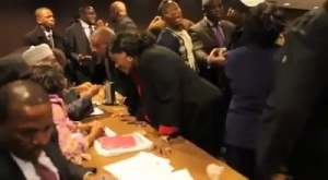 Nigerian Minister Disgraced In A Meeting In United States