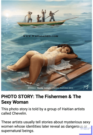 Photo Story: The Fishermen And The Sexy Woman - Season 1 Episode 6