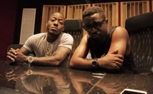 Sarkodie – New Guy Ft. Ace Hood (Recording Session)