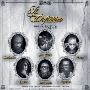 Sarkodie - The Definition ft. Yaa Pono, Edem, Jayso, Kofi Kinaata