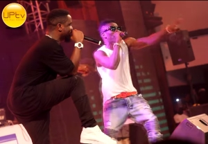 Sarkodie & Shatta Wale Perform Together At Ghana Meets Naija