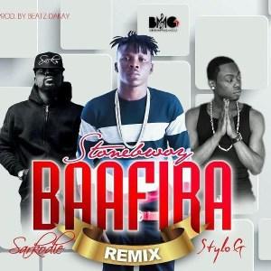 Stonebwoy - Baafira (Remix) ft. Stylo G & Sarkodie