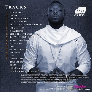 Timaya - Behind Me (Prod. By Young D)
