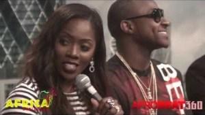 "VIDEO: ""Africa Unplugged"" 2014 Press Conference with Tiwa Savage & Davido"