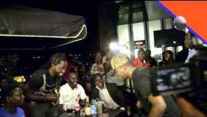 VIDEO:- Watch Olamide's Album (Street OT) Listening Party