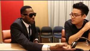 Video: D'banj Gushes As He Sees His Custom Beats By Dre Headphones For The First Time