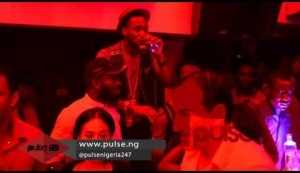 Video: Dorobucci Dance By Dbanj in a concert Recently