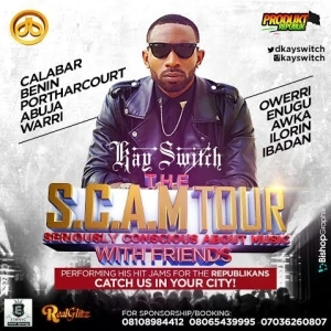 Video: Kayswitch Announces 10-City Tour, The SCAM