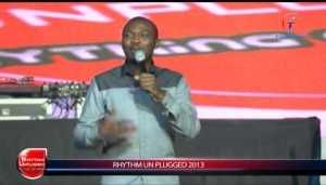 Video (stand up): Comedian Buchi Performing (Rythm unplugged)