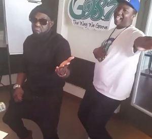 Watch Jim Iyke Dance 'Shoki' At G987FM
