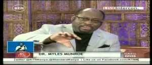 Watch Late Dr. Myles Munroe Speak About Death (Be Inspired)