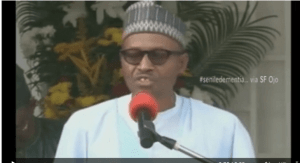 Watch President Buhari Embarrassing 180million Nigerians In Front Of The World
