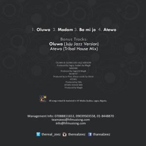 Zeez - Oluwa (Juju Jazz Version)