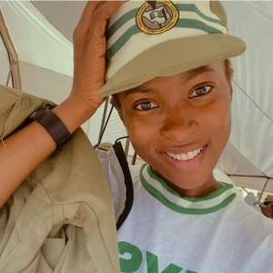 Actress, Jemima Osunde Shares Photos In NYSC Uniform As She Begins Youth Service