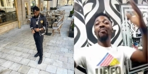 """If you like break my head, I'm still with you"""" – Journalist that was slapped by Davido reconciles with him (Video)"""