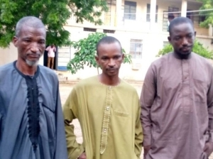 BUSTED!! 3 Repentant Bandits On Katsina Government's Payroll Arrested During Robbery