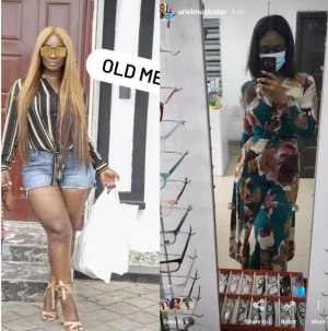 Uriel Gives Reason Why She Had To Lose Weight As She Reveals It