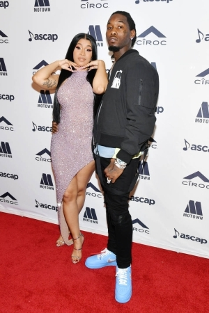 Offset shares a video of Cardi B cleaning, jokingly calls her out for