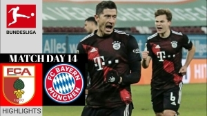 Augsburg vs Bayern Munich 0 - 1 (Bundesliga Goals & Highlights 2021)