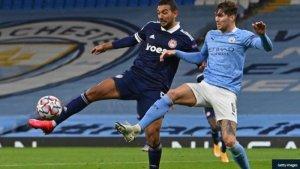 Pep Guardiola Praises John Stones After Man City Beat Olympiacos 3 – 0