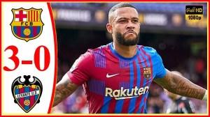 Barcelona vs Levante 3 −  0 (LaLiga 2021 Goals & Highlights)