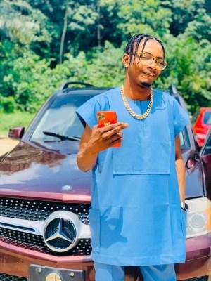Upcoming Singer, Stankush Shot Dead Inside His White GLK In Delta State (Photos)