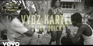 Vybz Kartel – Quick x3 (Music Video)