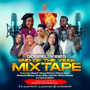 DJ Hollat – Happy New Year 2021 Gospel Mixtape
