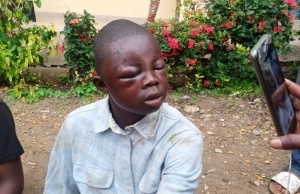 BUSTED!! See The 18-Year Old Boy Arrested For Busting Liquor Stores In Osun
