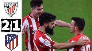 Athletic Club vs Atletico Madrid 2 - 1 (LaLiga Goals & Highlights 2021)