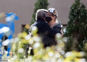 Alec Baldwin Spotted Hugging The Husband Of The Woman He Accidentally Shot Dead