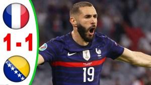 France vs Bosnia & Herzegovina 1 − 1 (2022 World Cup Qualifiers Goals & Highlights)