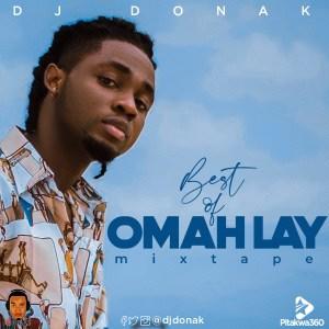 DJ Donak – Best Of Omah Lay Mix