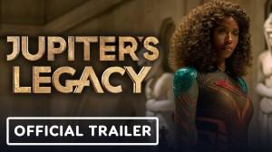 Jupiter's Legacy (2021) - Official Trailer Starr.  Josh Duhamel, Leslie Bibb