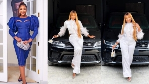Actress Idia Aisien's Siblings Gift Her A Range Rover SUV On Birthday