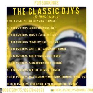 The Classic Djys – Jozi FM Mix