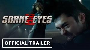 Snake Eyes: G.I. Joe Origins (2021) - Official Trailer Starr.  Henry Golding, Samara Weaving
