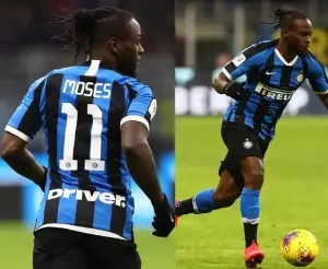 Chelsea loanee, Victor Moses shows off his new look after getting rid of his trademark dreadlocks (Photo/Video)