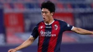 Tottenham remain keen on Bologna defender Takehiro Tomiyasu