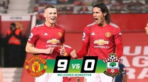 Man United vs Southampton 9 - 0 (EPL Goals & Highlights 2021)