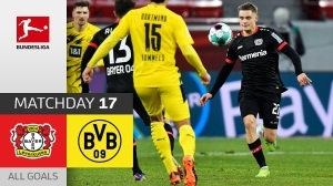 Bayer Leverkusen vs  Dortmund  2 - 1 (Bundesliga Goals & Highlights 2021)